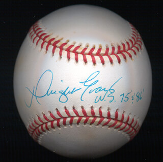 DWIGHT DEWEY EVANS - AUTOGRAPHED SIGNED BASEBALL
