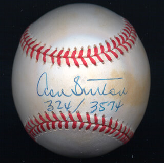 DON SUTTON - AUTOGRAPHED SIGNED BASEBALL