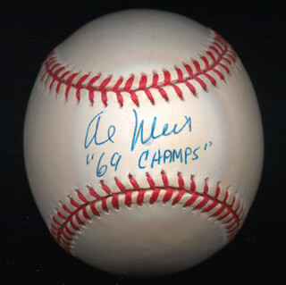 AL WEIS - AUTOGRAPHED SIGNED BASEBALL