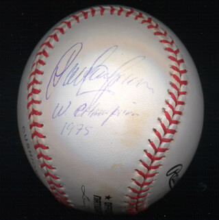 DAVE CONCEPCION - AUTOGRAPHED SIGNED BASEBALL