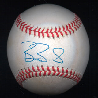 BARRY L. BONDS - AUTOGRAPHED SIGNED BASEBALL