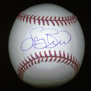 LARRY BIRD - AUTOGRAPHED SIGNED BASEBALL