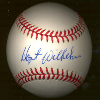 HOYT (JAMES) WILHELM - AUTOGRAPHED SIGNED BASEBALL