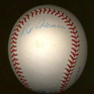RIP (WALTER GARY) COLEMAN - AUTOGRAPHED SIGNED BASEBALL