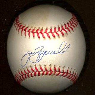 JEFF BAGWELL - AUTOGRAPHED SIGNED BASEBALL