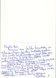 DOLORES (MRS. BOB) HOPE - AUTOGRAPH LETTER SIGNED 06/14/1995