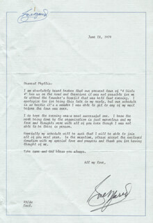 ROSE MARIE - TYPED LETTER SIGNED 06/28/1979