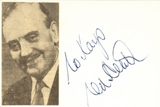 TED HEATH BAND (TED HEATH) - INSCRIBED SIGNATURE