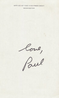 PAUL KEYES - AUTOGRAPH LETTER SIGNED CIRCA 07/1978