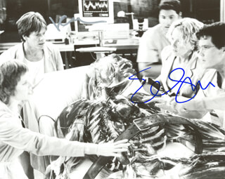 HOLLOW MAN MOVIE CAST - AUTOGRAPHED SIGNED PHOTOGRAPH CO-SIGNED BY: ELISABETH SHUE, KEVIN BACON