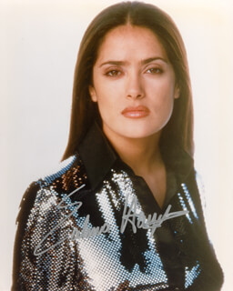 SALMA HAYEK - AUTOGRAPHED SIGNED PHOTOGRAPH