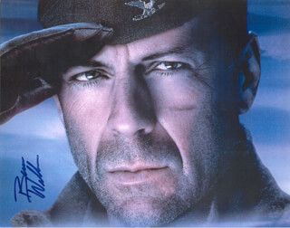 BRUCE WILLIS - AUTOGRAPHED SIGNED PHOTOGRAPH