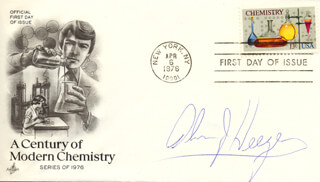 Autographs: ALAN J. HEEGER - FIRST DAY COVER SIGNED
