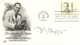 TIMOTHY HUNT - FIRST DAY COVER SIGNED