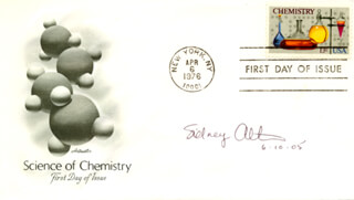 SIDNEY ALTMAN - FIRST DAY COVER SIGNED 06/10/2005