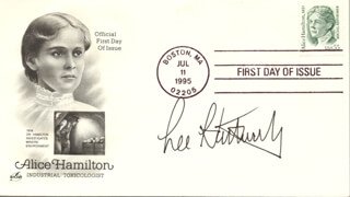 Autographs: LELAND H. HARTWELL - FIRST DAY COVER SIGNED