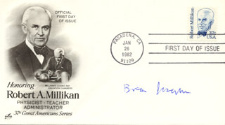 BRIAN D. JOSEPHSON - FIRST DAY COVER SIGNED