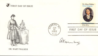 Autographs: ARTHUR KORNBERG - FIRST DAY COVER SIGNED