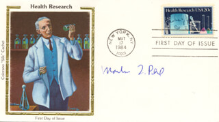 MARTIN L. PERL - FIRST DAY COVER SIGNED