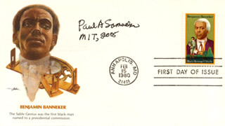 Paul A. Samuelson Autographs 270752