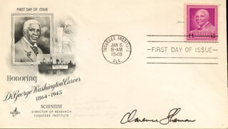 ASSOCIATE JUSTICE CLARENCE THOMAS - FIRST DAY COVER SIGNED