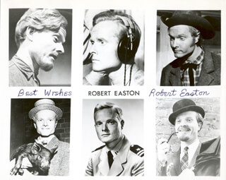 ROBERT EASTON - COMPOSITE PHOTOGRAPH SIGNED