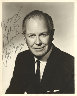 REGIS TOOMEY - AUTOGRAPHED INSCRIBED PHOTOGRAPH