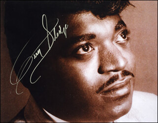 PERCY SLEDGE - AUTOGRAPHED SIGNED PHOTOGRAPH