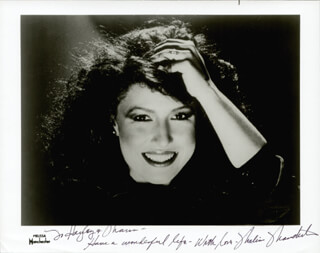 MELISSA MANCHESTER - AUTOGRAPHED INSCRIBED PHOTOGRAPH