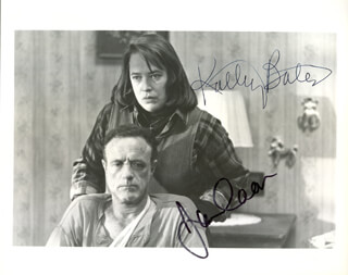 MISERY MOVIE CAST - AUTOGRAPHED SIGNED PHOTOGRAPH CO-SIGNED BY: KATHY BATES, JAMES CAAN