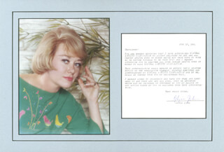 GLYNIS JOHNS - TYPED LETTER SIGNED 06/18/1964