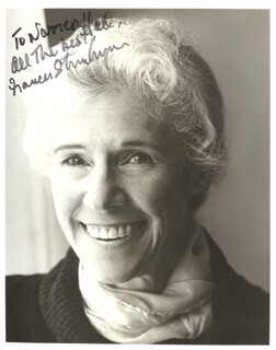FRANCES STERNHAGEN - AUTOGRAPHED INSCRIBED PHOTOGRAPH