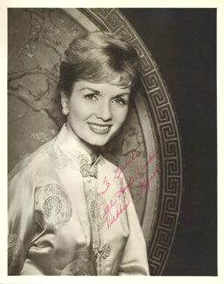 DEBBIE REYNOLDS - AUTOGRAPHED INSCRIBED PHOTOGRAPH
