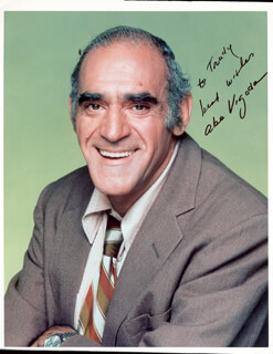 ABE VIGODA - AUTOGRAPHED INSCRIBED PHOTOGRAPH