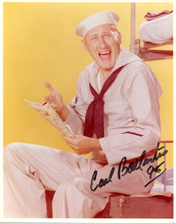 CARL BALLANTINE - AUTOGRAPHED SIGNED PHOTOGRAPH 1995