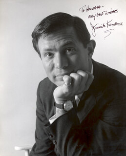 JAMES JIMMIE KOMACK - AUTOGRAPHED INSCRIBED PHOTOGRAPH