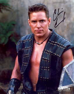 CHRIS CONRAD - AUTOGRAPHED SIGNED PHOTOGRAPH