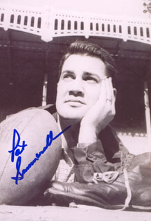 PAT SUMMERALL - AUTOGRAPHED SIGNED PHOTOGRAPH