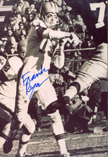FRANK RYAN - AUTOGRAPHED SIGNED PHOTOGRAPH