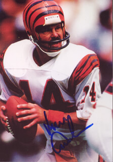 KEN ANDERSON - AUTOGRAPHED SIGNED PHOTOGRAPH
