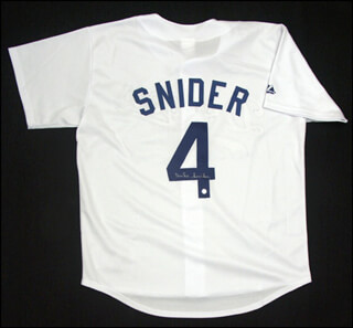 DUKE SNIDER - JERSEY SIGNED
