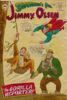 SUPERMAN ARTISTS - COLLECTION WITH CURT SWAN, MIKE ESPOSITO, JACK ADLER