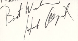 Autographs: HERB ALPERT - AUTOGRAPH SENTIMENT SIGNED