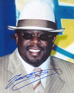 CEDRIC THE ENTERTAINER - AUTOGRAPHED SIGNED PHOTOGRAPH