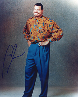 SINBAD - AUTOGRAPHED SIGNED PHOTOGRAPH