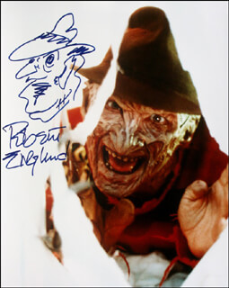 ROBERT ENGLUND - SELF-CARICATURE SIGNED