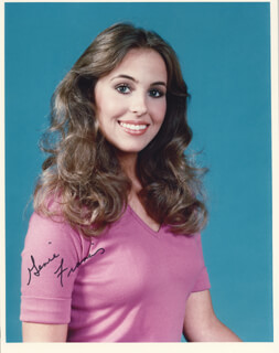 GENIE FRANCIS - AUTOGRAPHED SIGNED PHOTOGRAPH