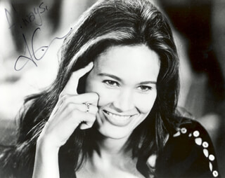 TIA CARRERE - AUTOGRAPHED SIGNED PHOTOGRAPH