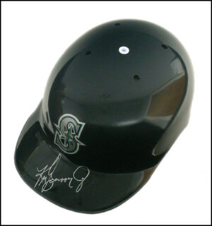 KEN GRIFFEY JR. - HELMET SIGNED