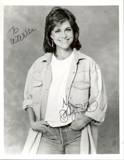 SALLY FIELD - AUTOGRAPHED INSCRIBED PHOTOGRAPH